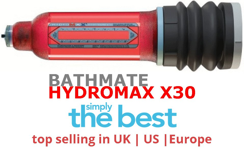 Shower Pump Bathmate Hydromax X30 like VaxAid
