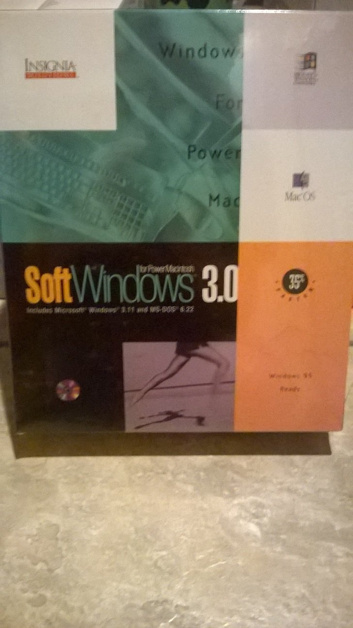 Insignia Solutions Softwindows 3.0 BRAND NEW IN BOX! QTY AVAIL! FREE SHIPPING!