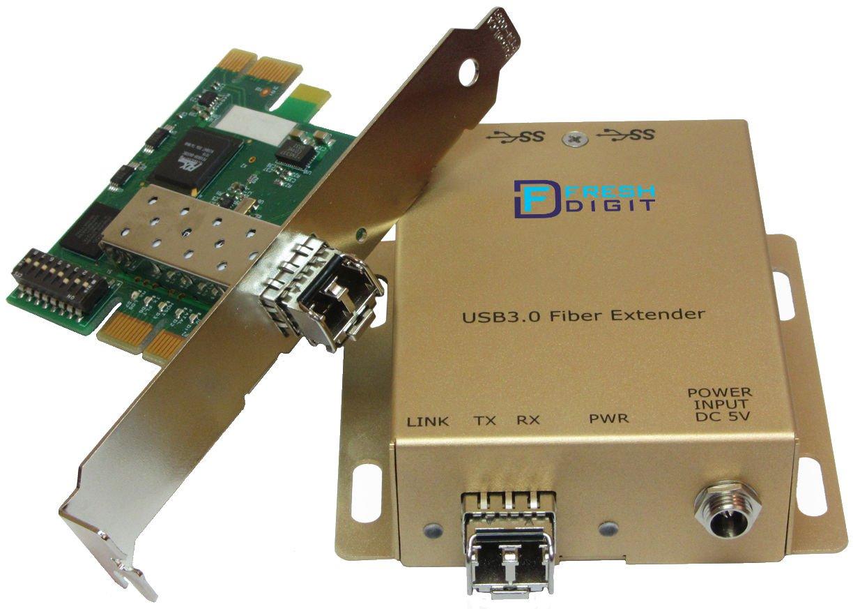 Fresh Digit USB 3.0 Single Mode Fiber Optic Extender