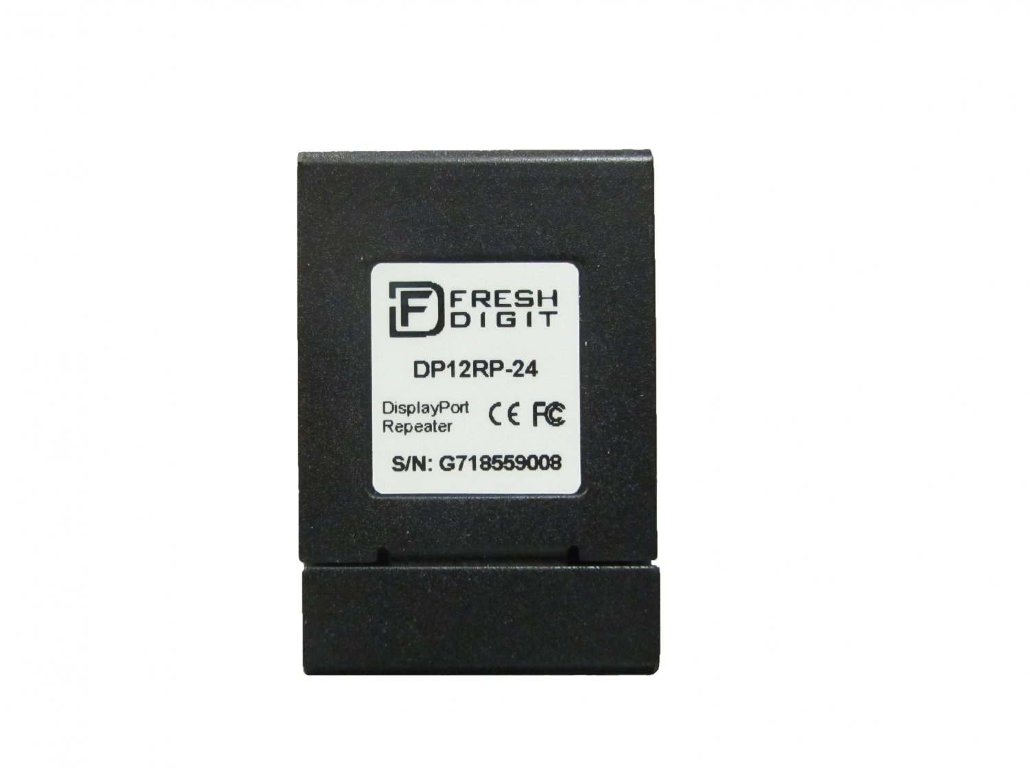 Fresh Digit 4K DisplayPort 1.2 Repeater for Audio/ Video Extension (for 24AWG cables)