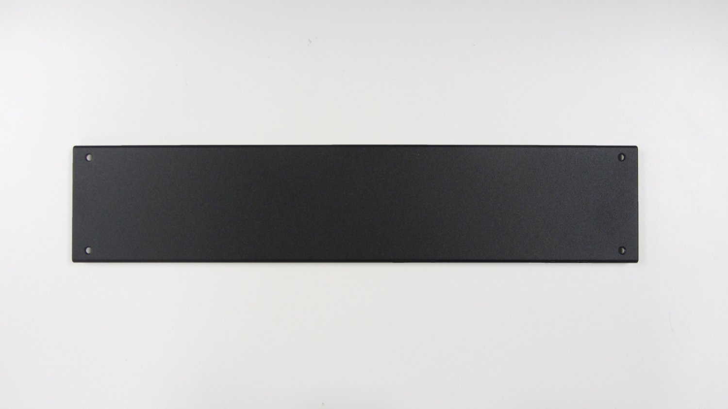 Hammond Front/Rear Aluminum Panel for RMCS/RMCV Series, 2U,Black Textured, RMCP3