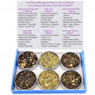 Tea Sampler - Mate - Chai - White Tea - Caffeinated - Gift Box - Tea - Loose Tea - Loose Leaf Tea