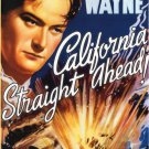 California Straight Ahead - Trucking Drama DVD - John Wayne 1937