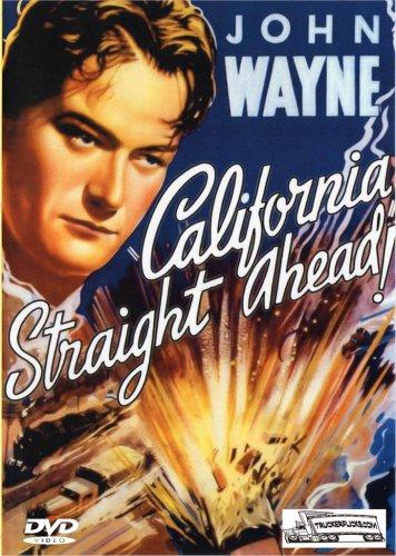 California Straight Ahead - Trucking Drama DVD - John Wayne 1937