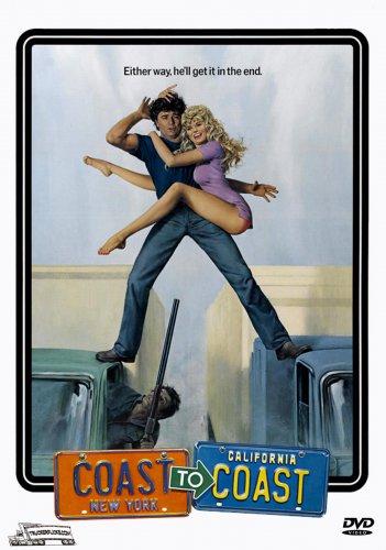 Coast To Coast - DVD - Trucking Adventure / 1980 - Robert Blake Dyan Cannon