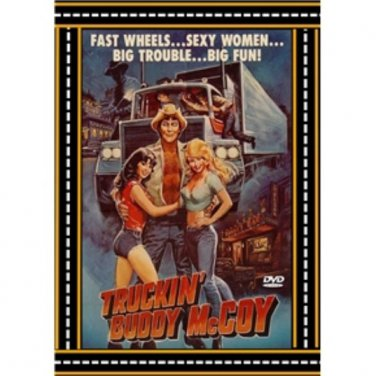 Truckin' Buddy McCoy - DVD - Trucking Adventure - NEW - 1982 Terence Knox