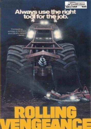 Rolling Vengeance DVD Trucker Adventure - Don Michael Paul - Lawrence Dane