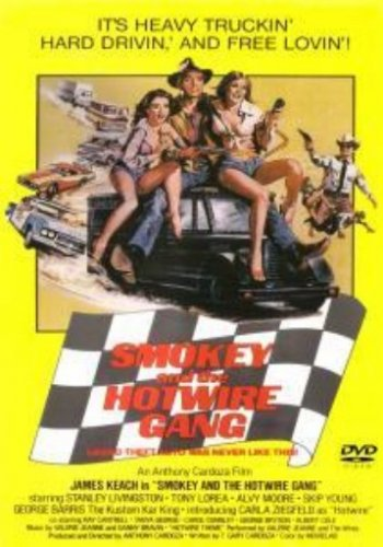 Smokey and the Hotwire Gang - Trucker Adventure DVD - James Keach - NEW/SEALED