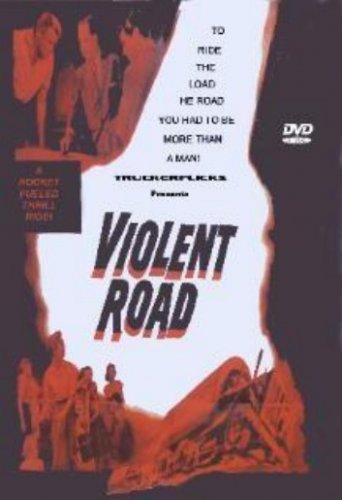 Violent Road - DVD - Trucker Adventure - Brian Keith, Efram Zimbalist Jr.