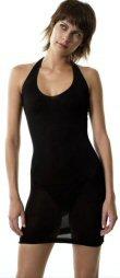 Open Back Mini Halter Dress