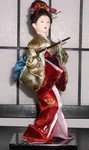"9"" Japanese GEISHA Oriental Doll"