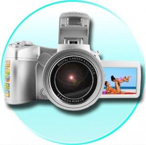 Dual Powered 5.0M Pixel Digital Camera - 3 Function Modes