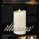 Avion Illusions1  Lighted Wick Flameless Candle with Simulated Virtual Motion