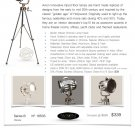 Avion Hollywood Studio Tripod Floor Lamp - Hand Made Replica
