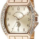 U.S. Polo Assn. Women's USC40074 Rose Gold-Tone Bracelet Watch (2 DAY SHIPPING)