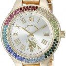 U.S. Polo Assn. Women's Quartz Metal and Alloy Watch Gold-Toned (Model: USC40128)