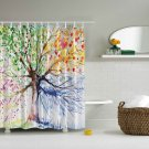 Four Seasons Tree Shower Curtain (2 DAY SHIPPING)