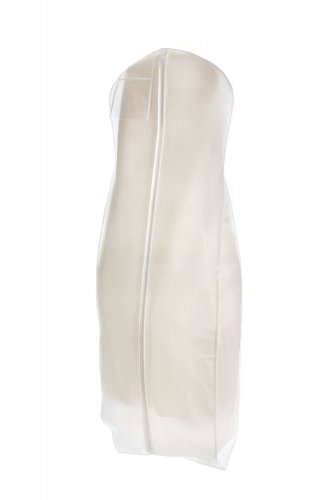 White Breathable Wedding Gown Dress Garment Bag