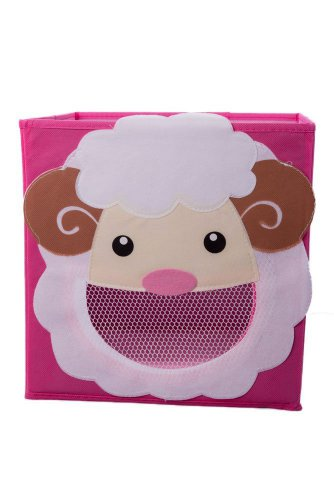 Smiling Sheep Collapsible Toy Storage Box