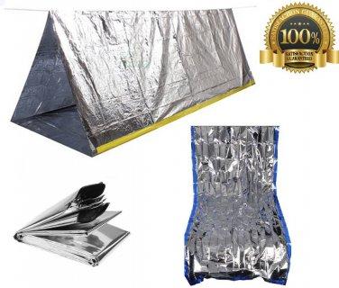 Sportsman Emergency Tent and Sleeping Bag Kit