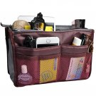 Purse Organizer,Insert Handbag Organizer Nylon 13 Pockets (2 DAY SHIPPING)