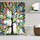 Colorful Tree Shower Curtain Tree of Life (2 DAY SHIPPING)