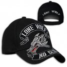 Hot Leathers Lone Wolf Ball Cap (2 DAY SHIPPING)