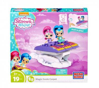 Mega Bloks Shimmer & Shine Magic Genie Carpet Building Set (2 DAY SHIPPING)