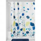InterDesign Aster Floral Fabric Shower Curtain (2 DAY SHIPPING)