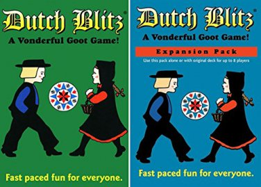 Dutch Blitz Original and Expansion Pack Set Card Game (2 DAY SHIPPING)