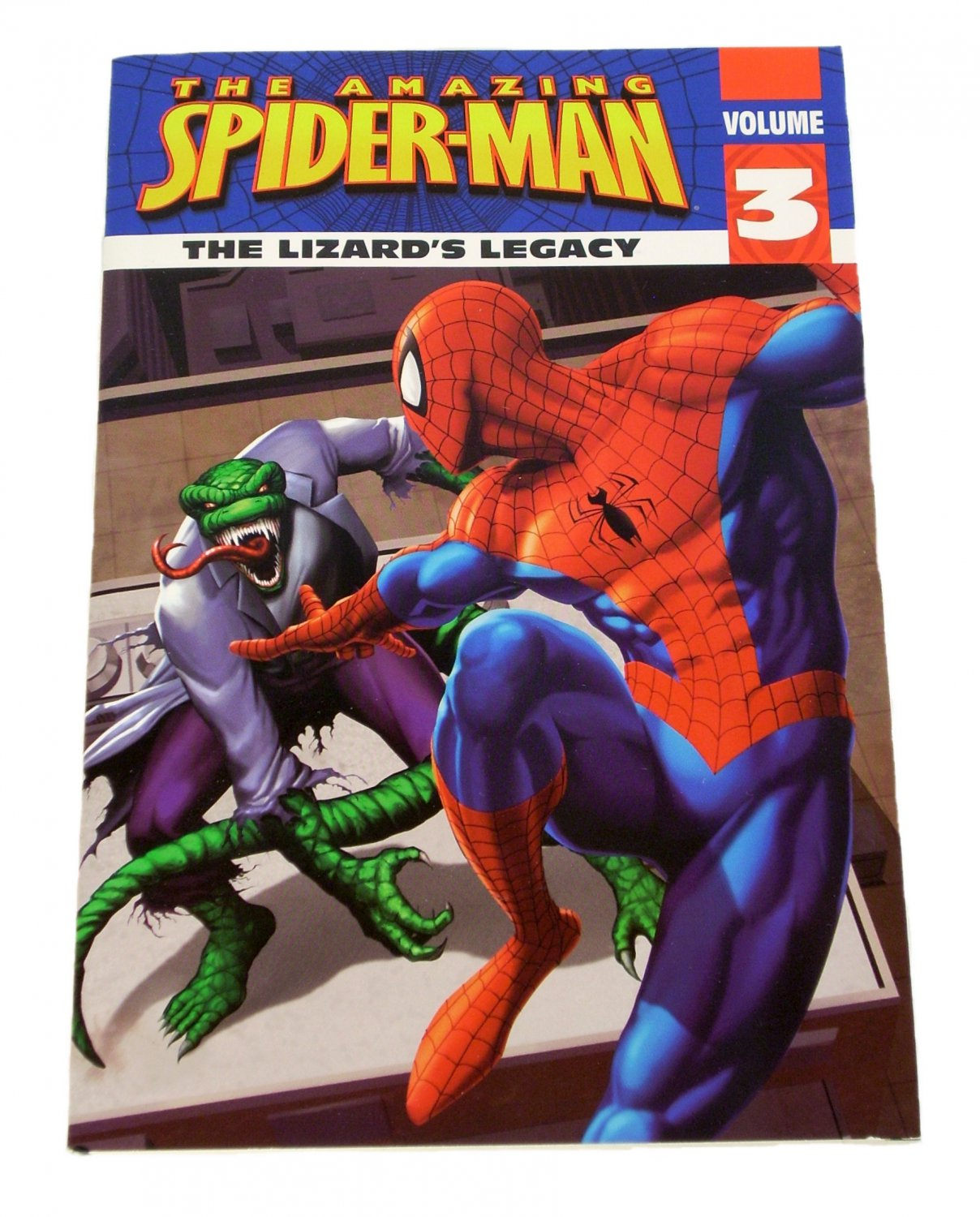 The Amazing Spider-Man The Lizard's Legacy by Mark W. McVeigh 2009 Paperback
