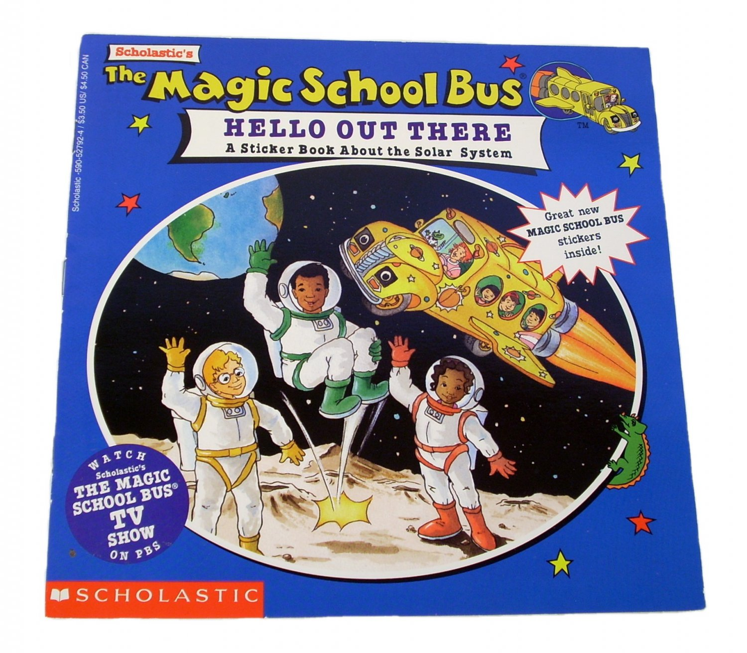 The Magic School Bus Hello Out There by Joanna Cole 1995 Paperback