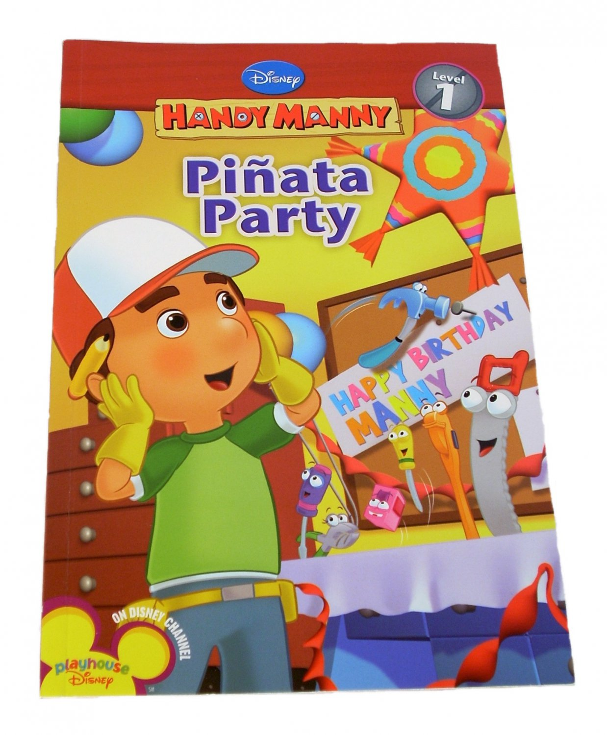 Disney's Handy Manny Pinata Party Level 1 by Susan Ring 2008 Paperback