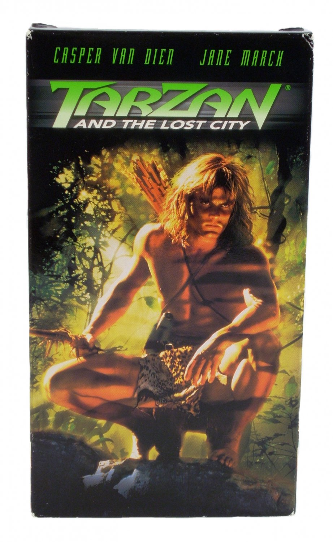 Tarzan and The Lost City VHS 1999