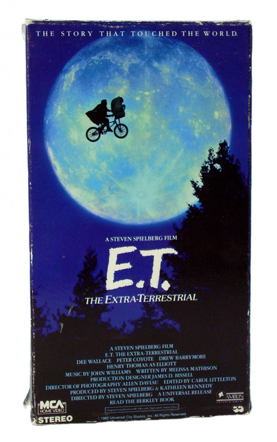 E.T. The Extra-Terrestrial VHS 1988
