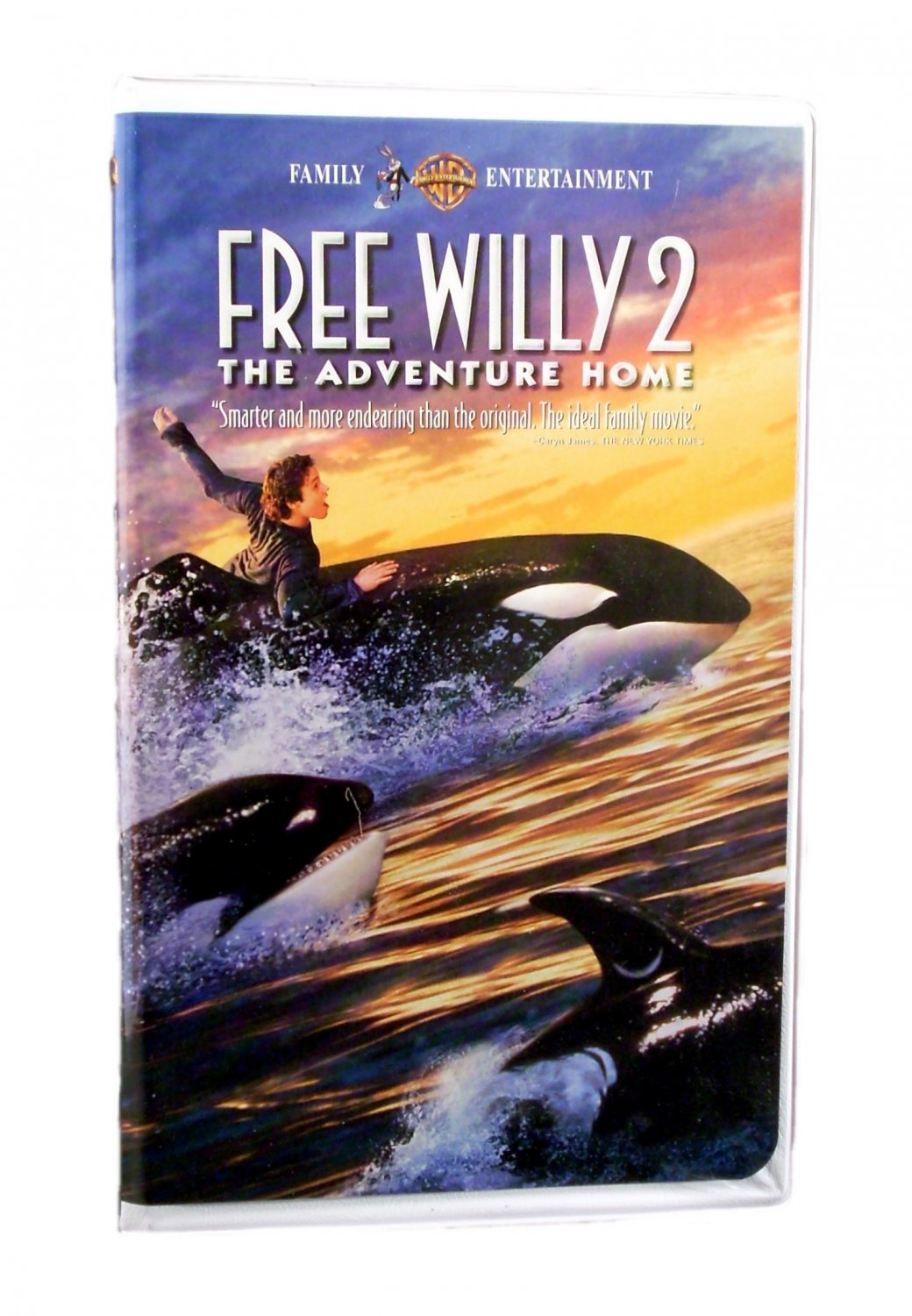 Free Willy 2 The Adventure Home VHS 1995