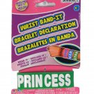 JA-RU Wrist Band-It Green Princess Rubber Bracelet