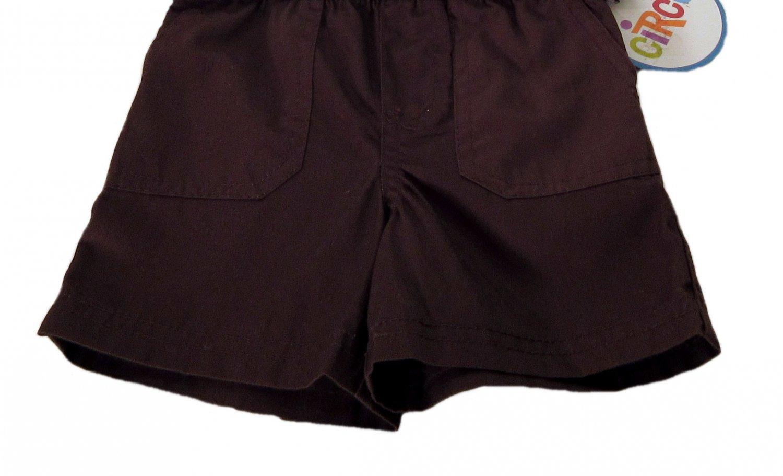 Circo Infant Boys Brown Cotton Shorts 6 Months