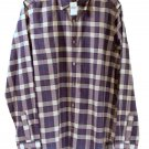 Gap Adult Mens Plaid Lightweight Casual Long Sleeve Shirt Small
