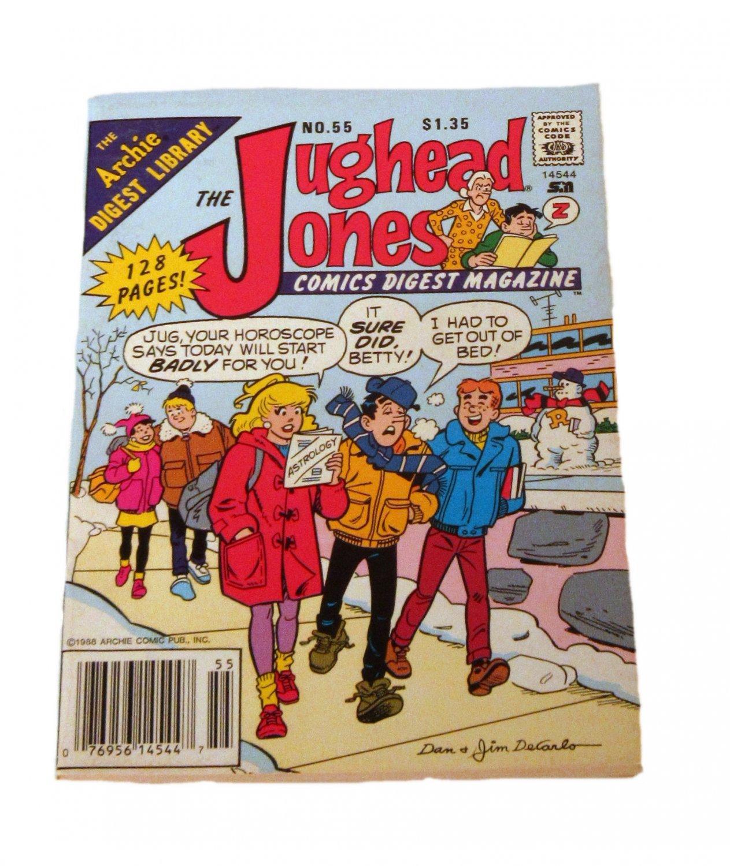 The Jughead Jones Comics Digest Magazine #55 February 1989