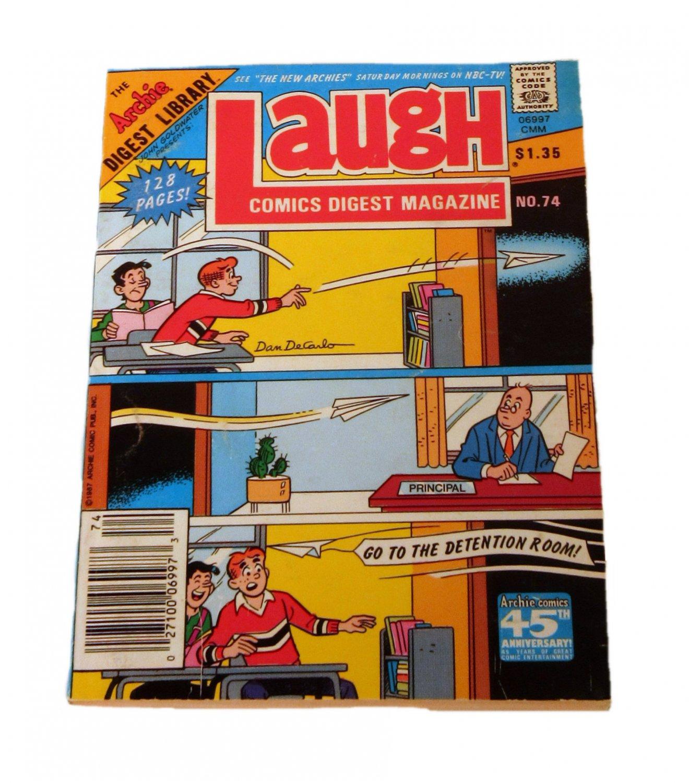 Laugh Comics Digest Magazine #74 January 1988