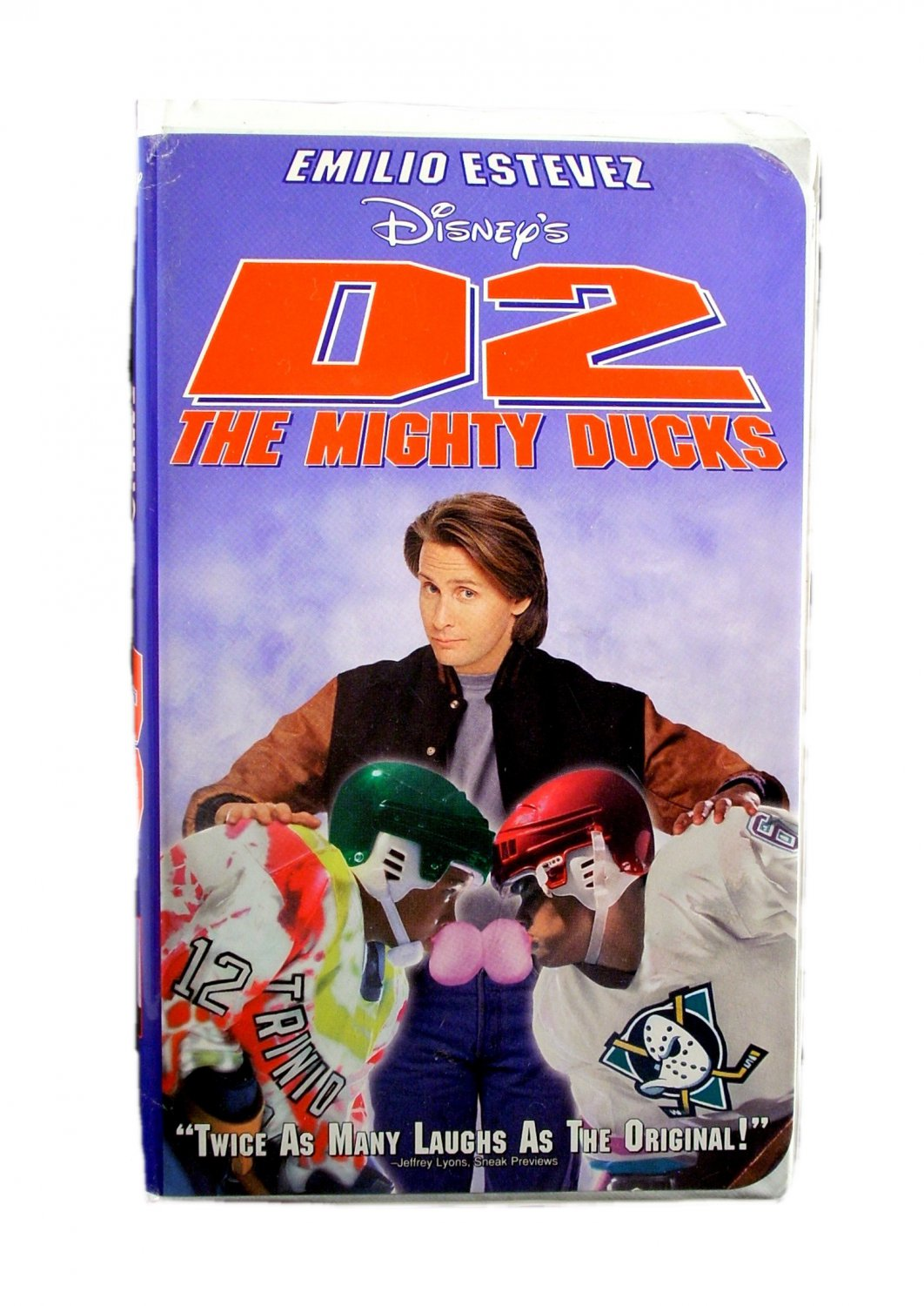 Disney's D2 The Mighty Ducks VHS 1994