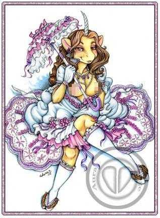 victorian unicorn