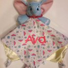 Disney DUMBO Snuggle Blankey Security Baby Blanket Lovey - Free Monogram