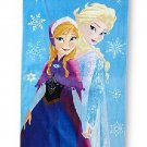 Disney Frozen My Sister My Hero Anna Elsa Cotton Beach Towel Free Monogram