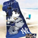 Mickey Mouse MLB New York Yankees Beach Towel - Free Monogram