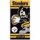 Disney Mickey Mouse NFL Pittsburgh STEELERS Beach Towel - Free Monogram