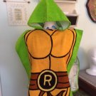 TMNT Teenage Mutant Ninja Turtles Boy's Hooded Towel Poncho - FREE Monogram