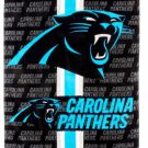 Football NFL Carolina Panthers Beach Towel - Free Monogram