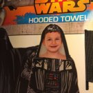 Hooded Beach Towel Bath Wrap Star Wars Darth Vader FREE Monogram